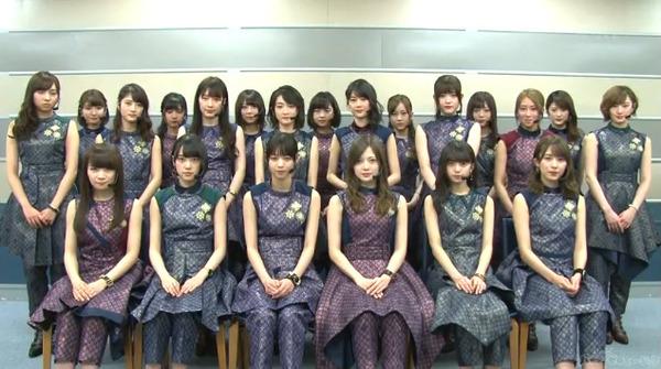 乃木坂46 CDTV出演 ! 動画「インフルエンサー」3/18