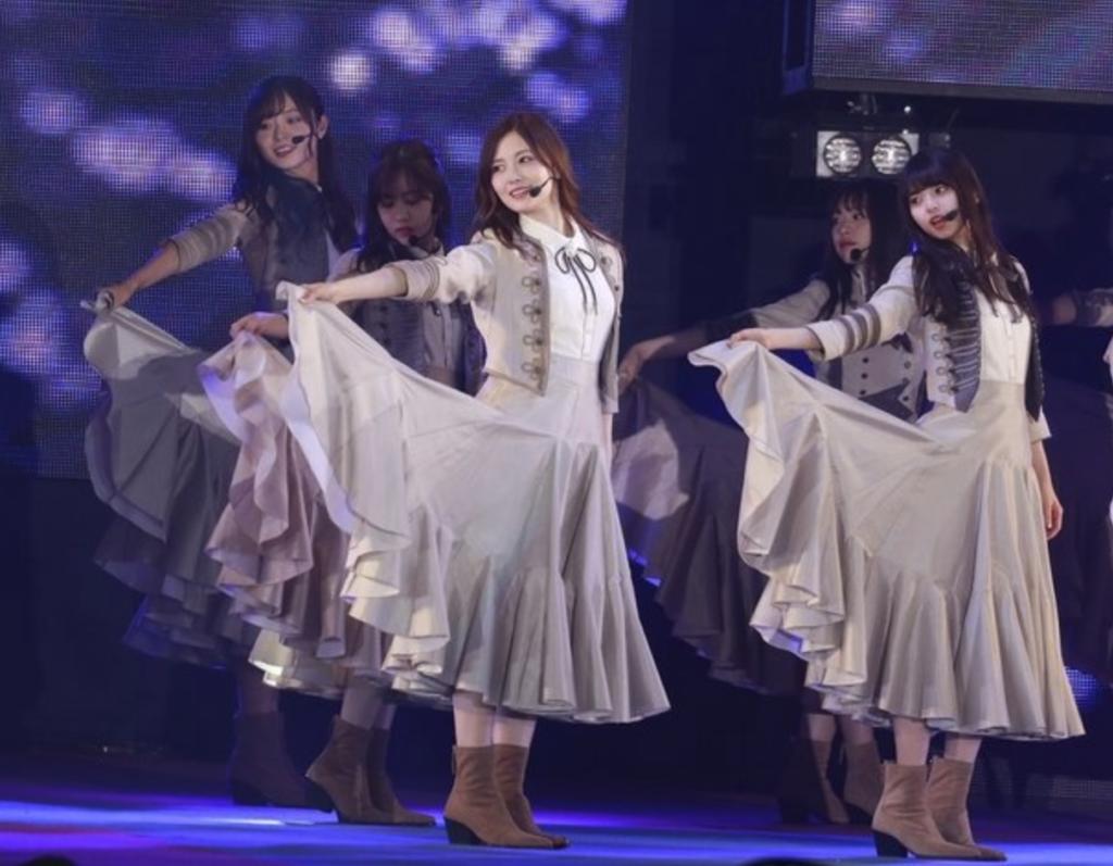 『ガルアワ 2019 S/S』で乃木坂46がライブを披露!セトリはどうだった?